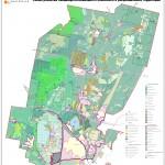 Схема развития ландшафтно-природного комплекса и рекреационных территорий.